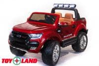 Электромобиль ToyLand Ford Ranger 2017 New 4x4 Красный